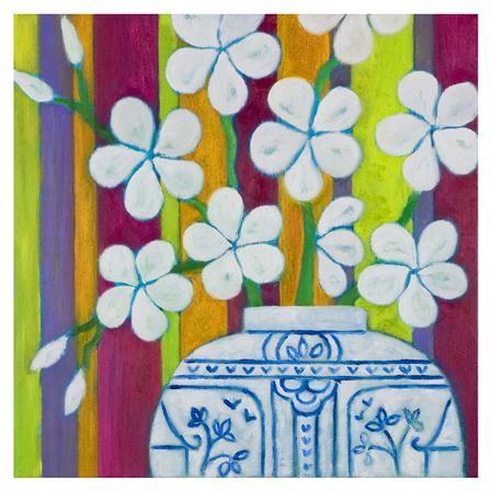 Lámina Mr Smith's Blossom de Mariska Meijers, 45x45cm