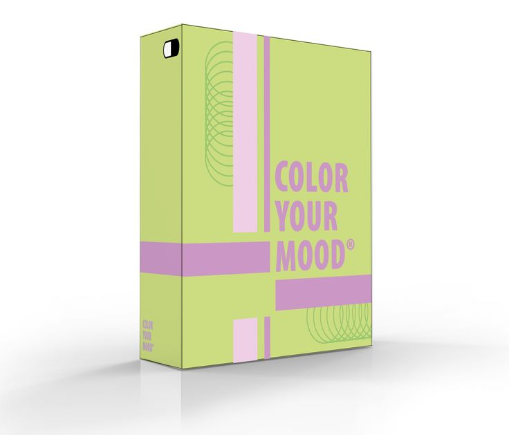 """de 3D versie van het kleurenpalet dat het gevoel """"kalm"""" het beste weergeeft"""