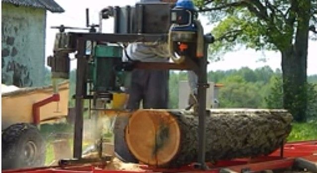 Best ideas about chainsaw mill on pinterest