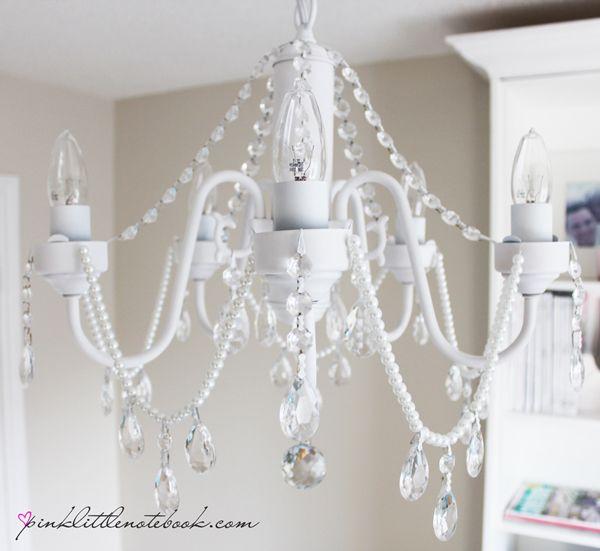 Best Chandelier Makeover Ideas On Pinterest Brass Chandelier - Beautiful diy white flowers chandelier