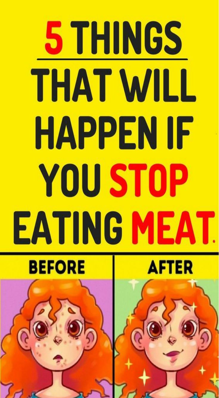 5 things that happen when you stop eating meat