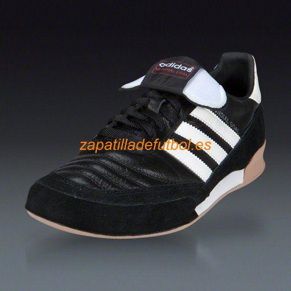 58% de descuento Interior futbol Zapatos Adidas Mundial Goal Negro Blanco