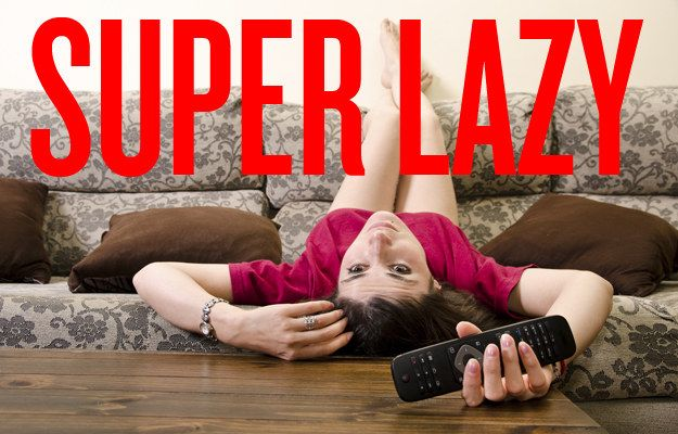 How lazy are you?  Congratulations, you are the perfect level of lazy: SUPER LAZY. Who cares if you skip a social event or seven? You have better things to do. Like nothing.