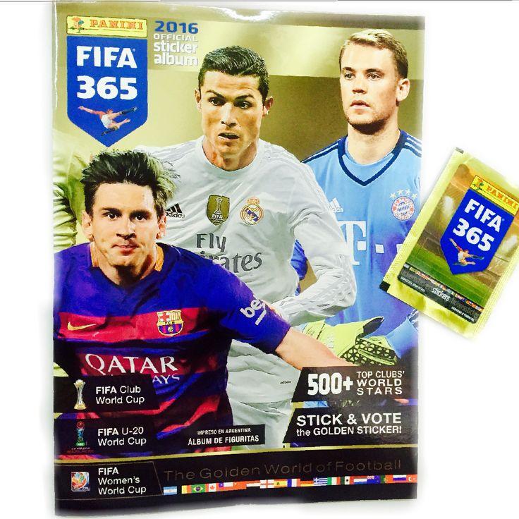 Llegó Fifa 365 colección 2016 a LaGolosineria.com.ar