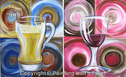 114 best the heights painting with a twist images on for Wine and paint indianapolis