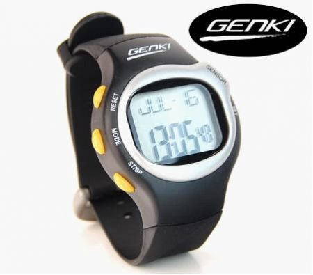 Father's Day Gift Ideas - Genki 6 in 1 Touch Sensor Sports Pulse Heart Rate Watch - JT-E302