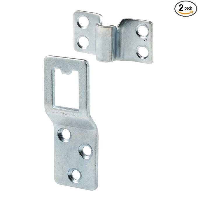 Prime Line Products L 5777 Window Screen Heavy Duty Top Hangers Pack Of 2 Window Screens Zinc Plating Wood Windows