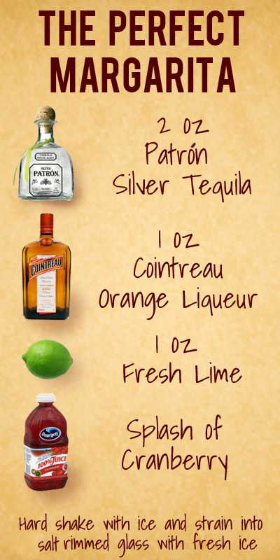 The perfect margarita - I hate Margaritas because tequila and I are NOT friends, but this sounds worth a try.