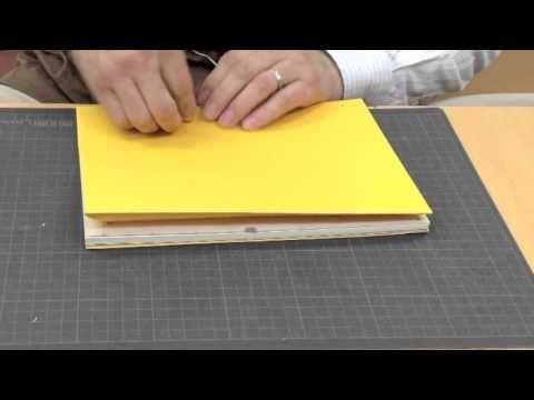 【DIY】 Japanese Style Book Binding - YouTube