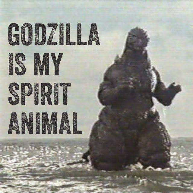 Front Door Studios - Godzilla is my spirit animal