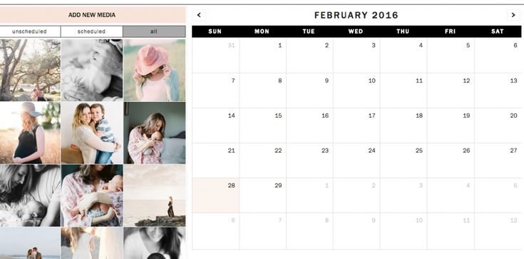 """Planogr.am for Photographers. """"What I love about Planogr.am more than the other options I tried first, is the Visual Planner next to the calendar. The layout makes planning your Instagram Grid"""" - Tiffany of http://blog.tiffanyfarley.com"""