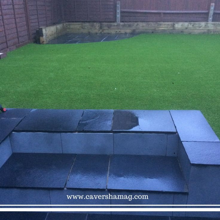 • We have just created a Beautiful Garden Landscape, transforming this garden into a magical wonderland, with a brand new Patio and Freshly installed Artificial Grass! Find us on Facebook: https://www.facebook.com/CavershamArtificialGrass/