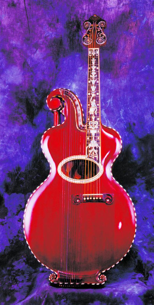 Orville Gibson's Harp Guitar
