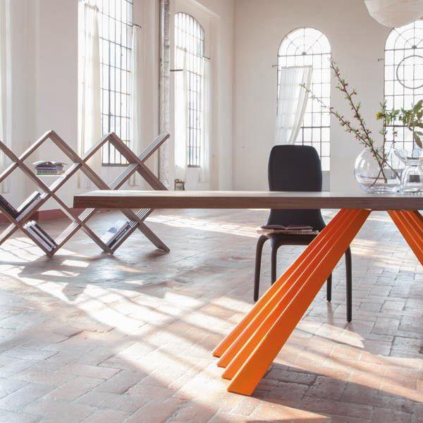 Ventaglio Fixed Dining Table - Tonin Casa