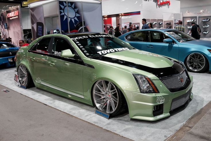 Vossen Precision Series on this wide body CTS-V in Air-Rex ...