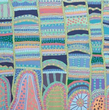 Colour is Powerful Original Painting by Helen Joynson
