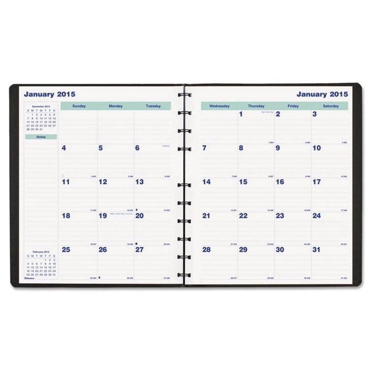 academic monthly planners