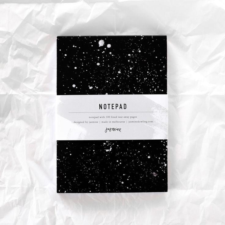 Stardust Notepad by Jasmine Dowling