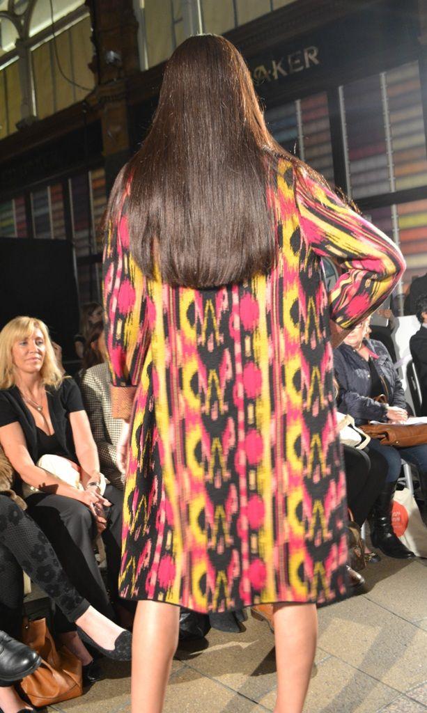 Harvey Nichols Leeds AW13 fashion show. M Missoni coat, Alexander McQueen dress, Christian Louboutin shoes   angelinthenorth.com