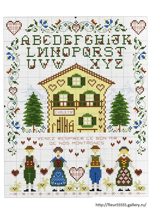 how to keep track of counted cross stitch