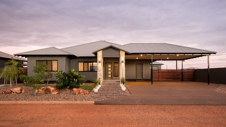 The Walcott Plan Façade Connolly Homes Broome