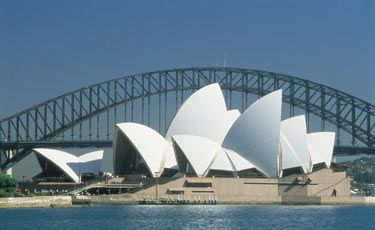 """Jorn UTZON, """"Sydney Opera House"""" (1959-1973)"""