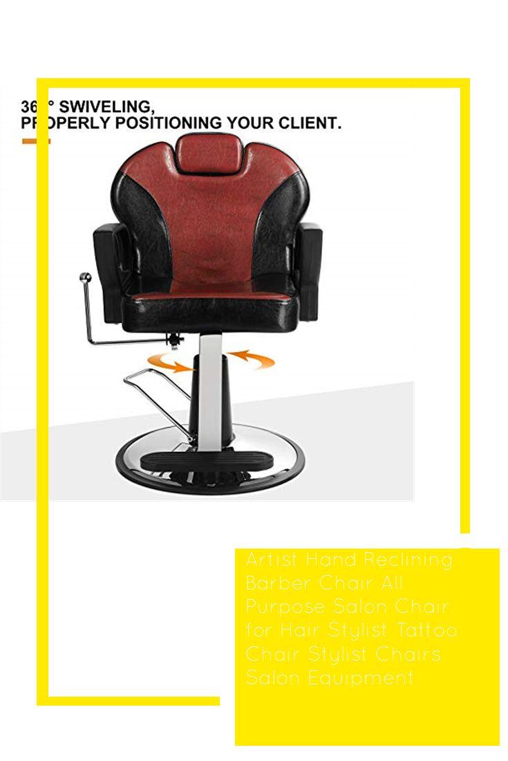 Artist hand reclining barber chair all purpose salon chair