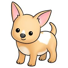 Chihuahua Dog - Lots of clip art on this site