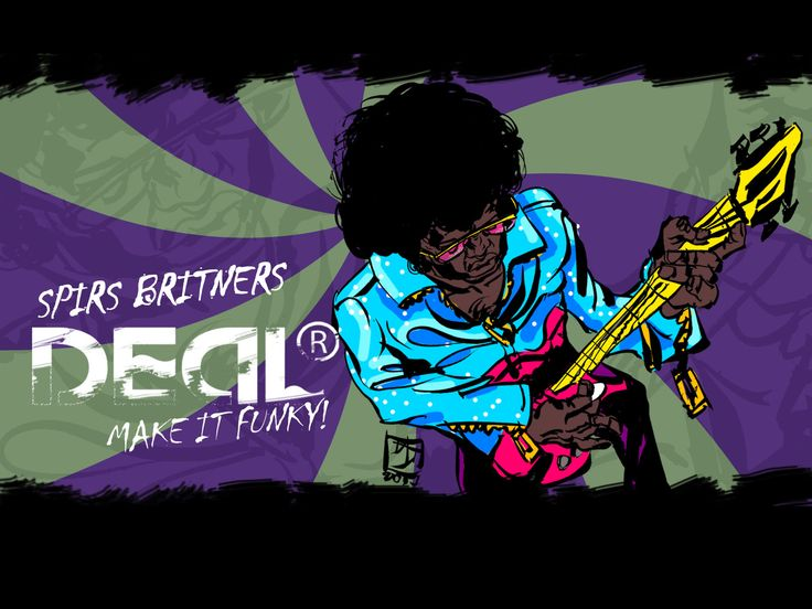 """Graphic by Igor Kolesov for Spies Boys album and animated series """"Deal"""""""