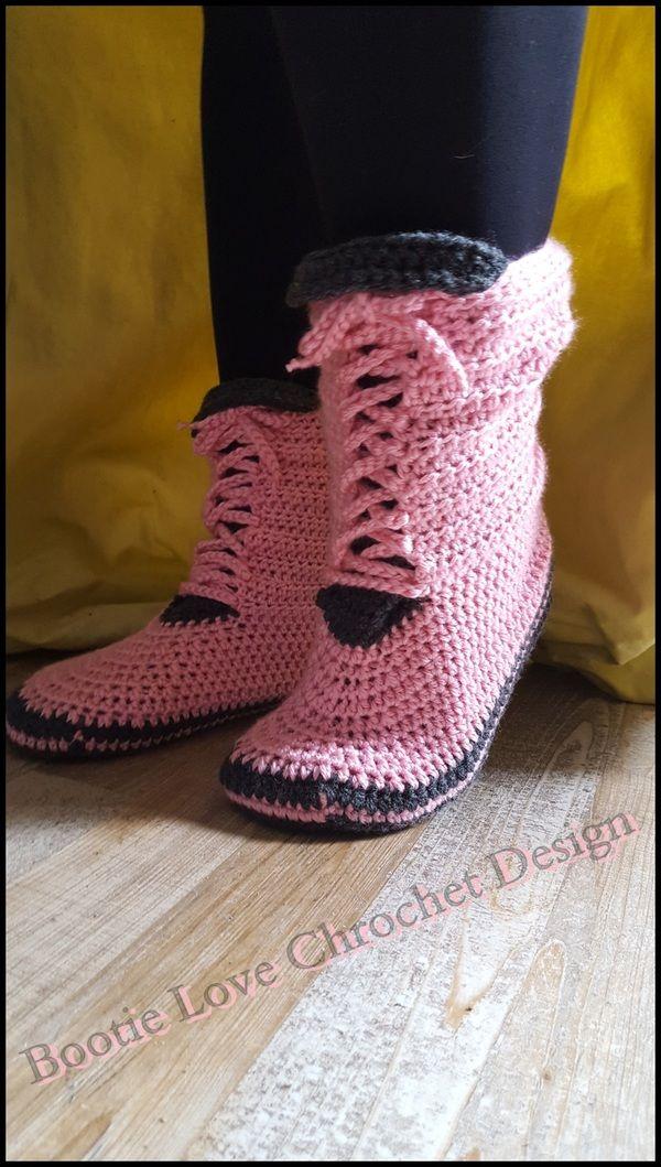24 best Schuhe gehäkelt images on Pinterest | Schuhe häkeln, Flache ...