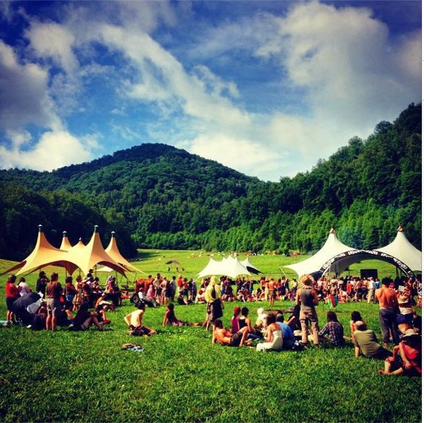 This year's Firefly Gathering - four days of skill-based classes in Barnardsville, NC.