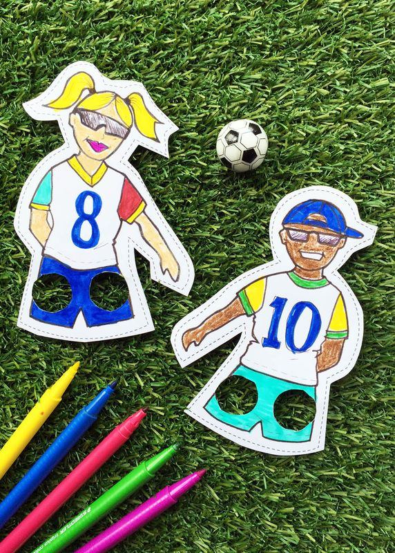 53 best f tbol images on pinterest clip art for Football crafts for preschoolers