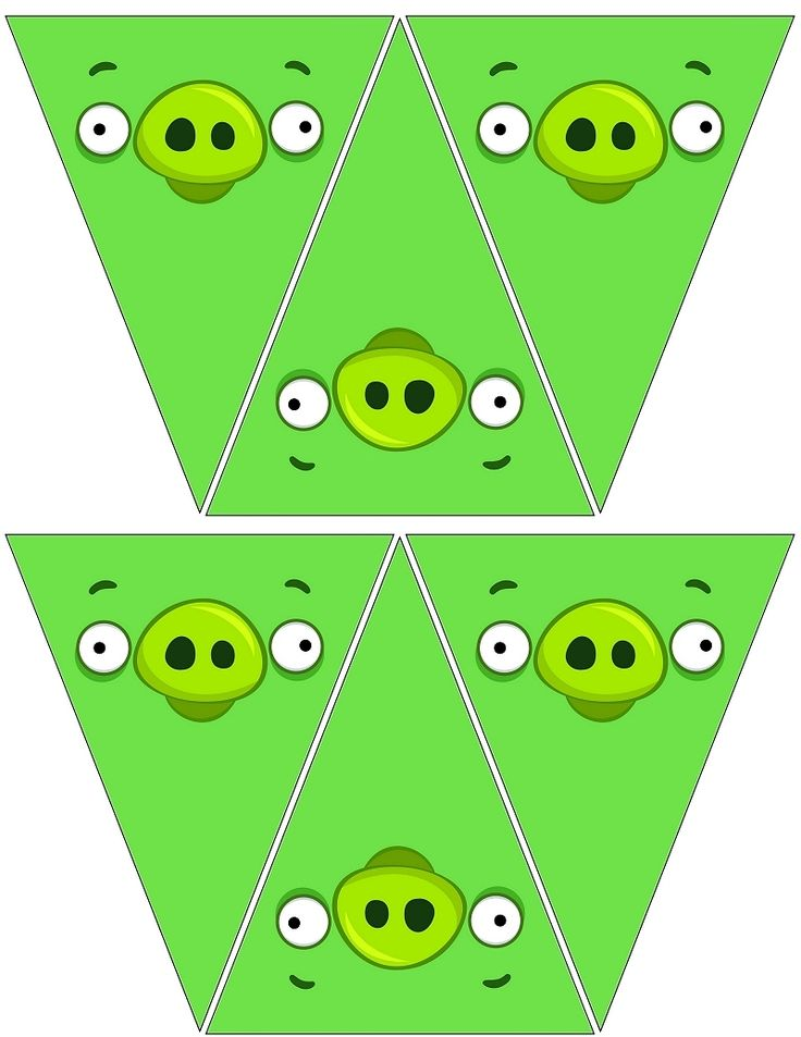 Angry Bird Pig Banners .... free to use and free to share <3