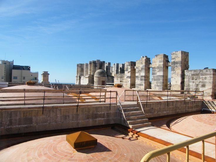 Cubiertas. Catedral de Málaga