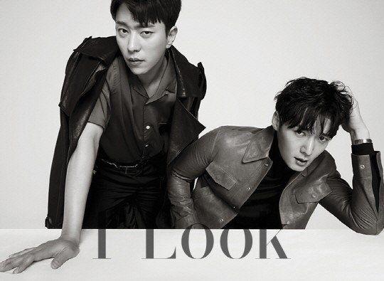 'Tunnel' stars Choi Jin Hyuk and Yoon Hyun Min demonstrate their bromance for 'First Look' | allkpop.com