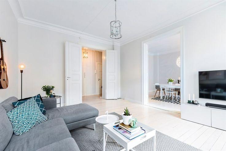 FINN – VIKA/SOLLI PLASS - Lys og lekker 5-roms leilighet - Klassiske detaljer - Moderne - 3 soverom - Flott beliggenhet - Nærhet til alt!