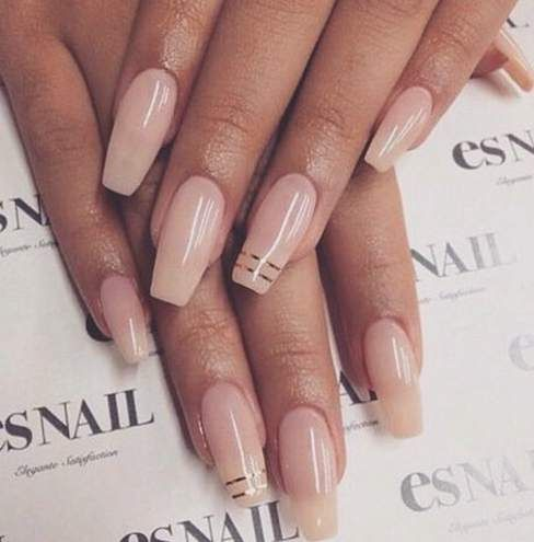 17 Best ideas about Neutral Acrylic Nails on Pinterest | Simple ...