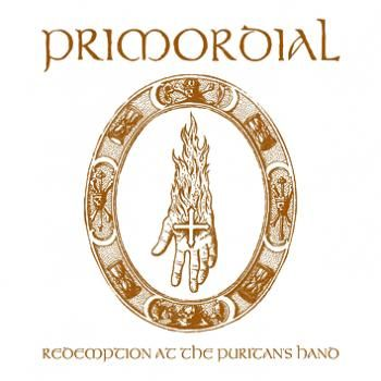 "L'album dei #Primordial intitolato ""Redemption At The Puritan's Hand""."