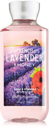 French Lavender & Honey Shower Gel - Signature Collection - Bath & Body Works