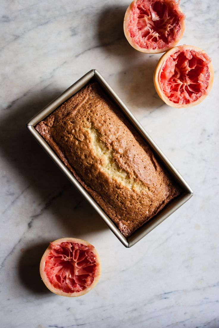 Grapefruit + Raw Cane Sugar + Olive Oil Pound Cake | for the love of the south