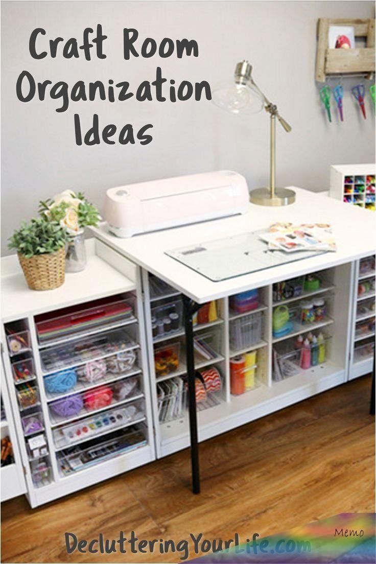 22 01 2020 Diy Craftroom Organization Unerwartete Und Kreative Ma Glichkeiten Ihren Craftr In 2020 Office Craft Room Combo Room Organization Diy Craft Room Design