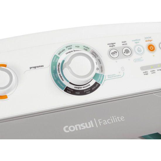 Lavadora Automática Consul, 10kg,  Facilite - CWC10