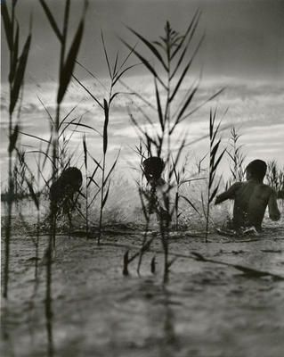 Playing in the Ammersee | 1950