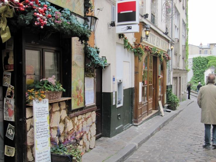 Bistrot, Montmarte