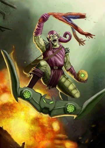 imagenes del duende verde comic