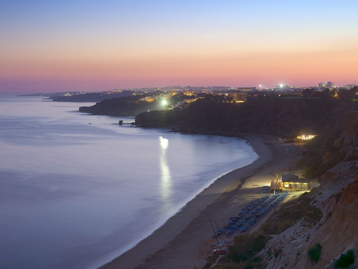 Overview of the beach at Sunset. Breath taking!