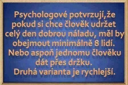 Citát dne: Psychologové potvrzují
