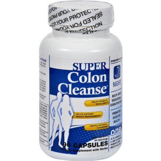 Health Plus Super Colon Cleanse Night Formula - 90 Capsules