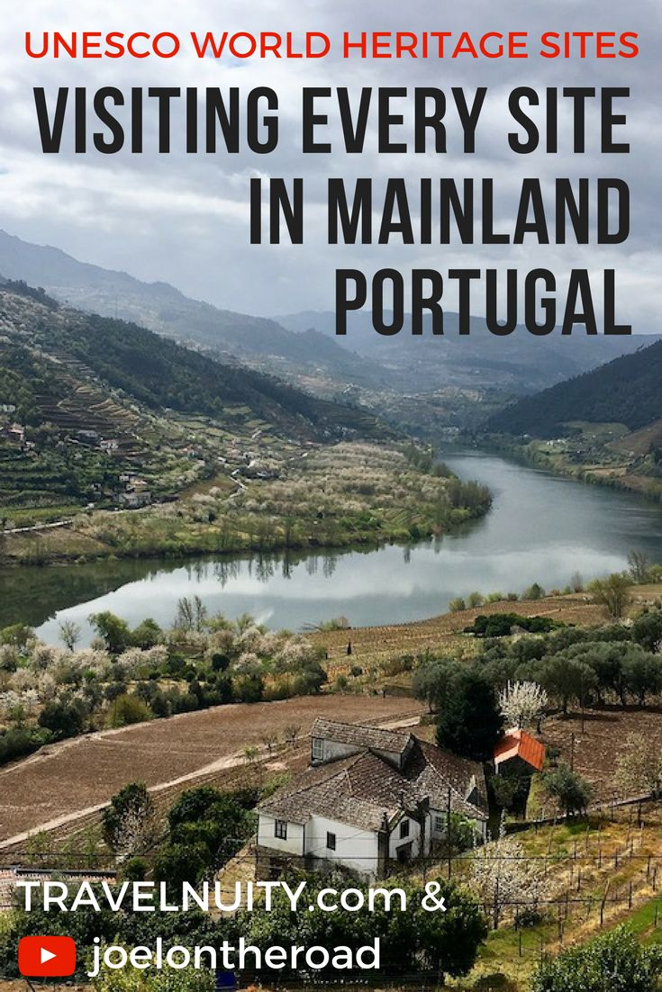 Visiting Portugal? Find out about the 12 UNESCO World Heritage Sites located on the Portuguese mainland, that I visited on my recent road-trip.