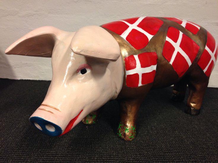 Danish Bacon # Pig art